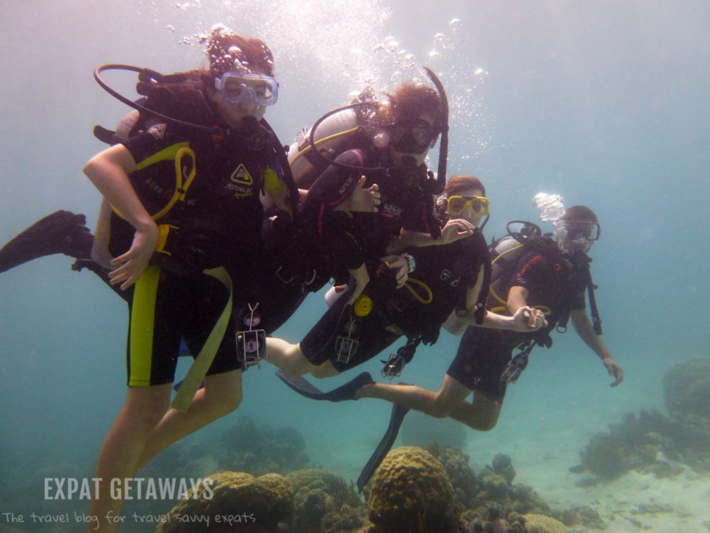Introducing my 12 year old niece to SCUBA! Definitely a proud Auntie moment :)