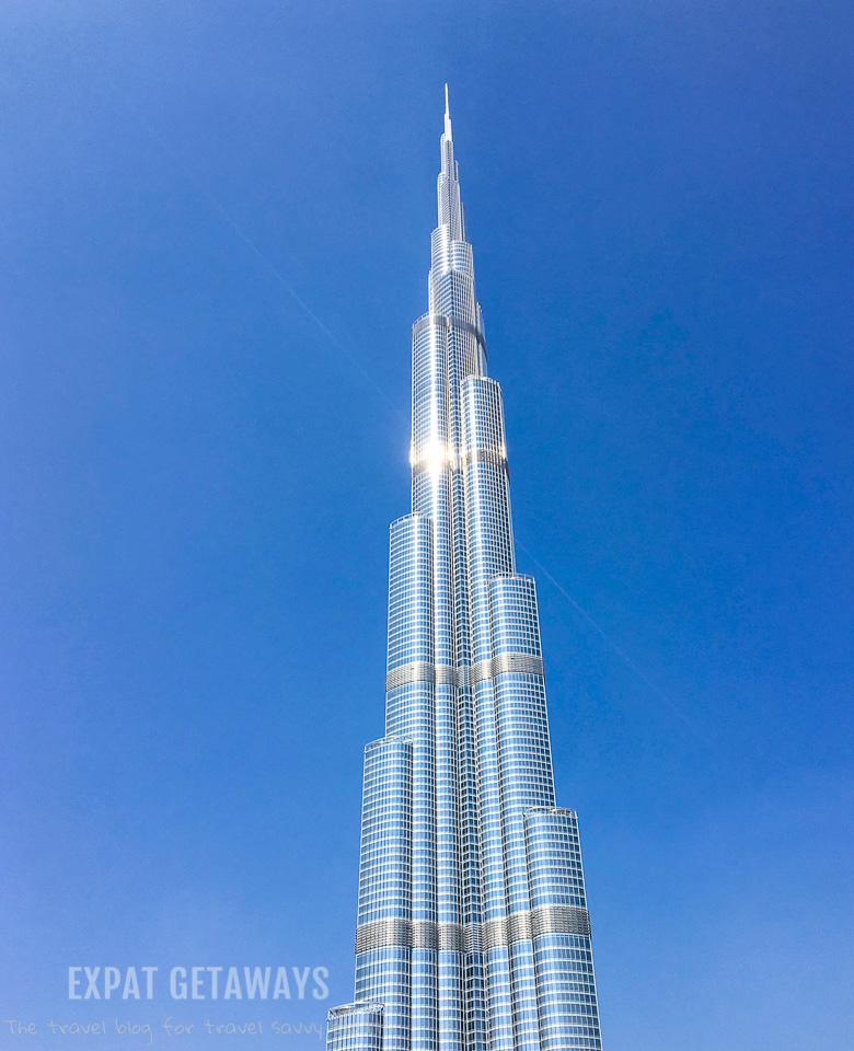 The world's tallest building - the Burj Khalifa
