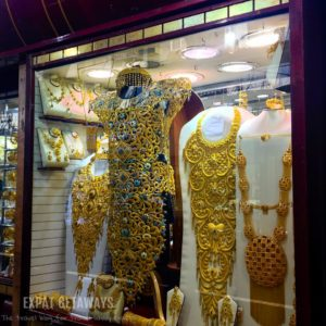 All that glitters most certainly is gold here in the souk!