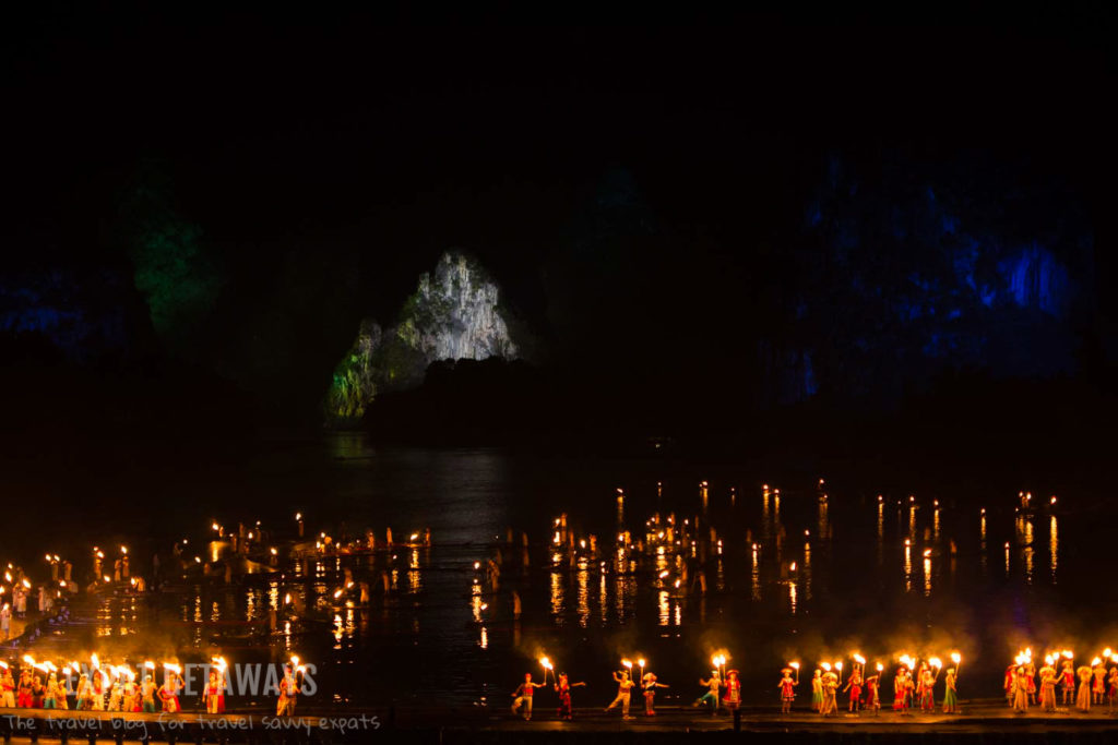 Impressions of Light Show Yangshou