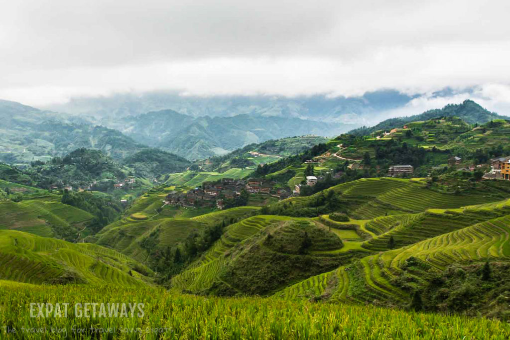 Stunning views await you in the Longji Rice Terraces in the Guangxi Province