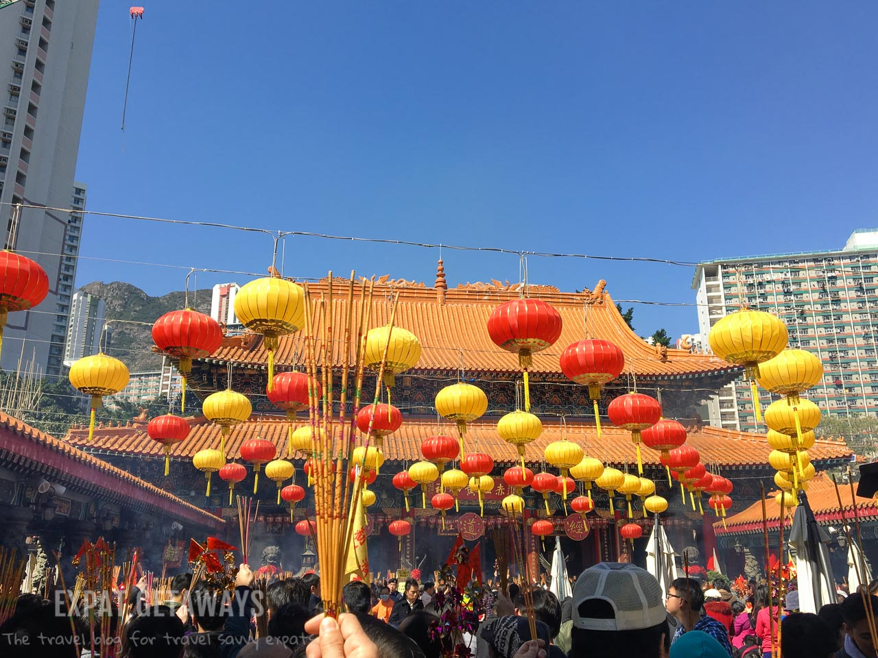Wong Tai Sin Temple in Hong Kong is a colourful display of Chinese culture.
