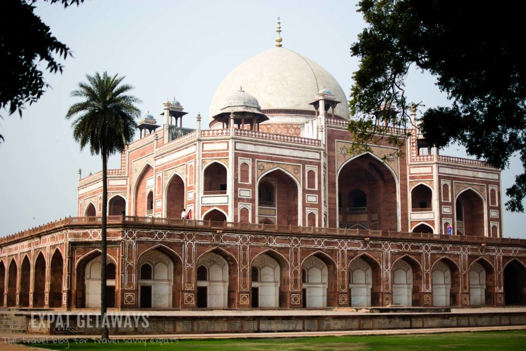 Humayuns Tomb in Delhi, India. Expat Getaways, 5 Nights Golden Triangle, Delhi, Jaipur & Agra, India.