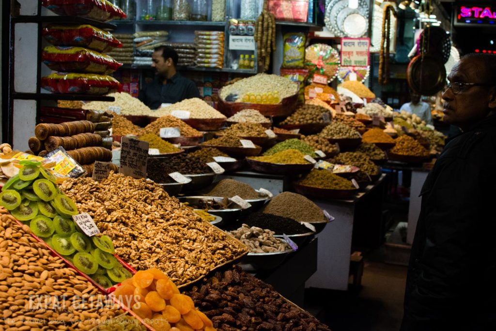 Old Delhi Food Tour spice market india